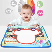 Water Magic Painting Drawing Board Kids  Blanket Doodle Water Painting Mat Educational Toy Play Mat Painting Canvas Palette