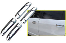 Chrome Door Handle Covers Trim For Fit, Jazz 2001-2013