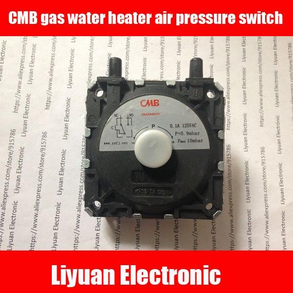 CMB gas water heater air pressure switch /universal boiler pressure ...