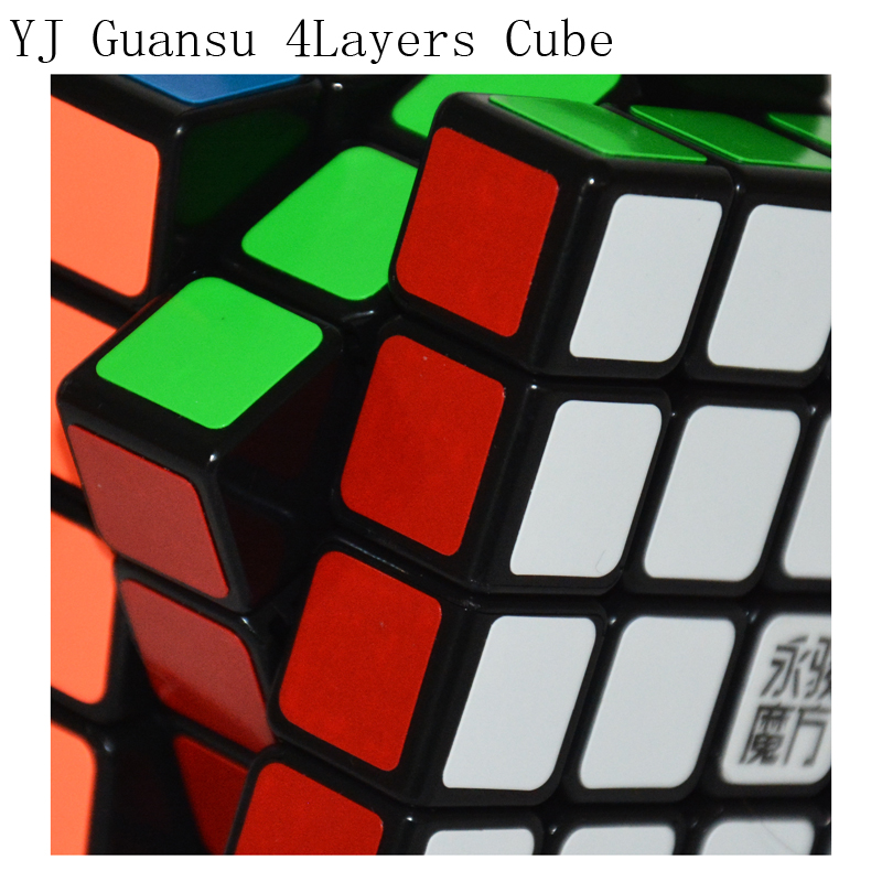 New Yongjun Guansu 4x4x4 Magic Cube 4layers Moyu Formal Dedicated Game YJ 4x4x4 Magic Cube 62mm Speed Puzzle Toys For Children yj guanlong speed third order magic cube toy