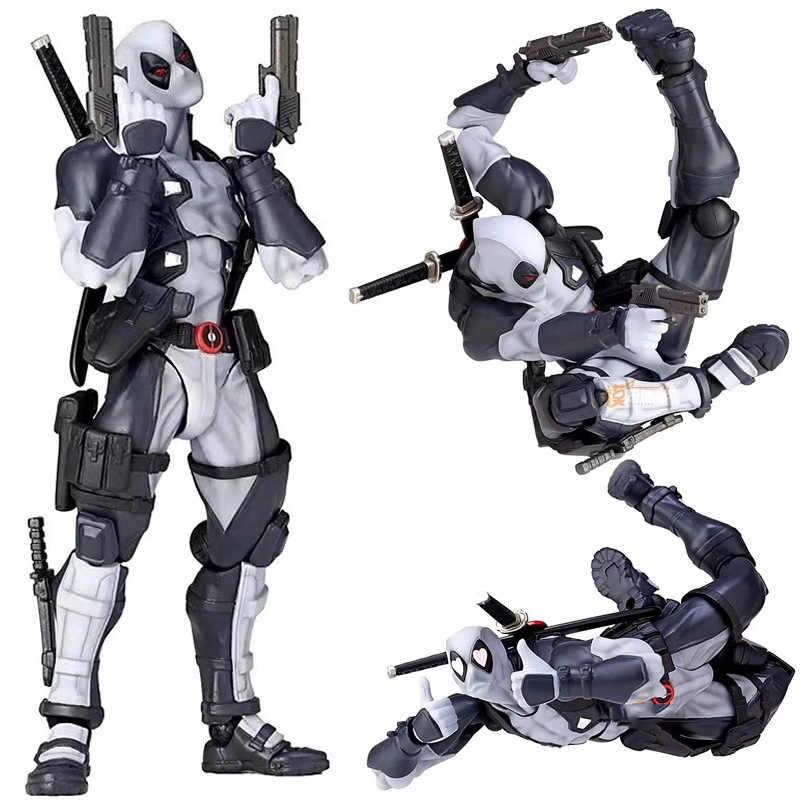 Nova quente 16cm super herói x-men deadpool móvel action figure brinquedos coleção presente de natal boneca