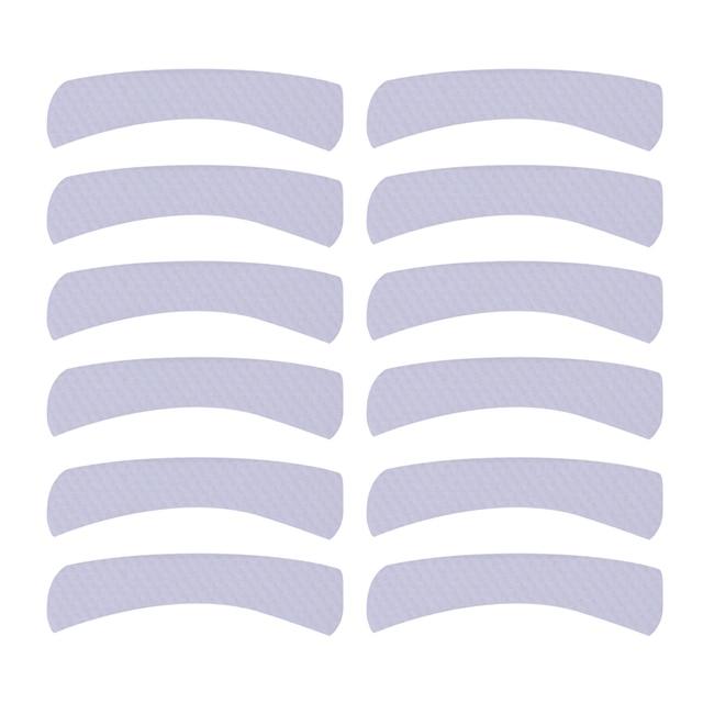 100pcs Paper Patches Eyelash Shields Perm Curler Curling False Fake Eyelashes Extention Under Eye Pads Tips White Sticker Wraps 2