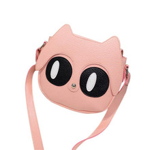 2016 Fashion design Lovely Cat Bags Ladies New Fashion Leather Handbags Messenger Shoulder Crossbody Bag for girls bolso mujer