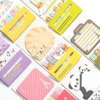 Animal cat panda cute kawaii sticky notes post it memo pad school supplies planner stickers paper.jpg 200x200