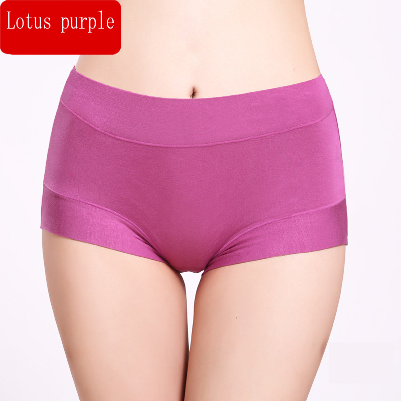HW333 Solid Color Briefs For Women Modal Underwear Knickers Female Seamless   Panties   Intimates Girl Plus Size Lingerie Underpants