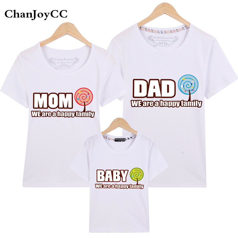 Passende Familienoutfits Mom Tochter Kind T Shirt Mode Passenden Tops