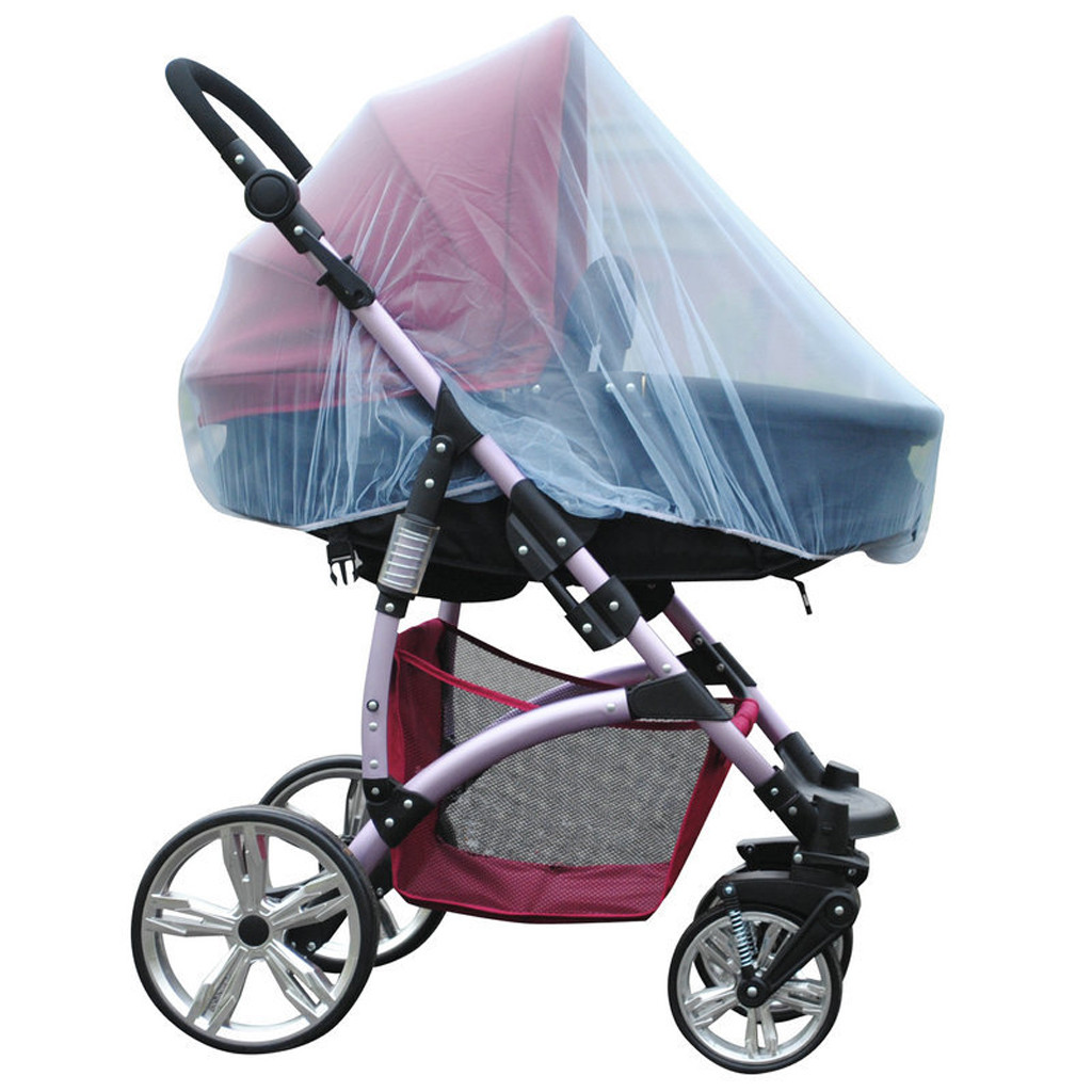 Stroller Pushchair Pram Mosquito Fly Insect Net Mesh Buggy Cover Baby Infant new
