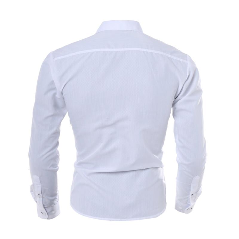 hombre vestir dress shirts 2017 casual slim fit mens shirt chemise homme men shirt solid. Black Bedroom Furniture Sets. Home Design Ideas