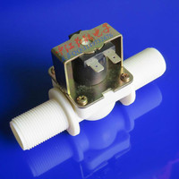 Normally Closed Inlet Value Enter Water Solenoid Valve For Drinking Fountain Washing Machine Dishwasher G3 4