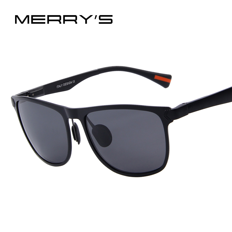 MERRY S Hombres gafas de Sol Polarizadas Marco De Aluminio gafas de Sol de  Moda gafas de sol UV400 en Gafas de sol de Ropa y Accesorios 83d50688f07e