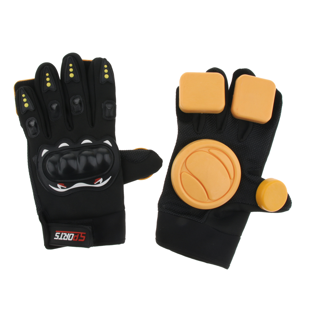 Skateboard Protective Gloves Standard Adult Longboard Downhill Slide Gloves Skate Gloves for Skate Skateboard Roller Skating