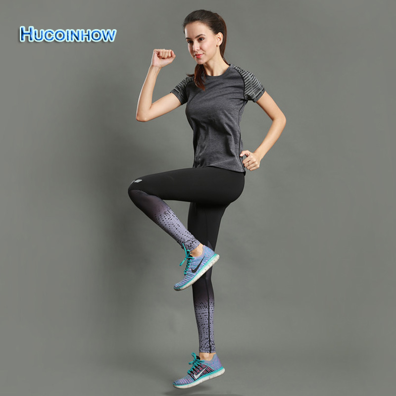Women's Clothes For Sports 2Pcs Breathable Running Suit Sports Trousers T-shirt Female Fitness Set Yoga Jogging Suits For Women new stretch yoga running suits fitness sports woman gym clothe suit short sleeved jogging femme 3 set clothing for women