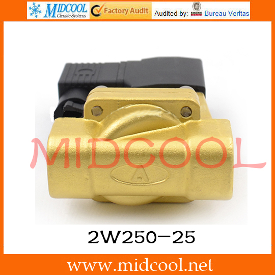 Original AirTAC Fluid control valve (2/2way) 2W Series (Internally piloted and normally closed) 2W250-25 original airtac control valve m3 series