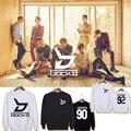 Kpop Block bloco blok B album ZICO Outwear bape Hoodie Pullover SHIRT hip hop Sweatshirt