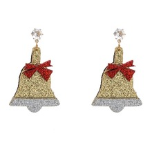 цена на 2019 Real Alexandrite Figure Brinco Earrings With Europe And The New Cartoon Christmas Bell Manufacturers Selling