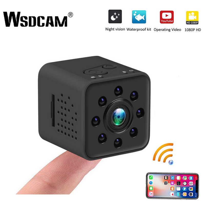 Wsdcam Mini Camera WIFI Camera SQ13 SQ23 SQ11 SQ12 FULL HD 1080P Night Vision Waterproof Shell CMOS Sensor Recorder Camcorder