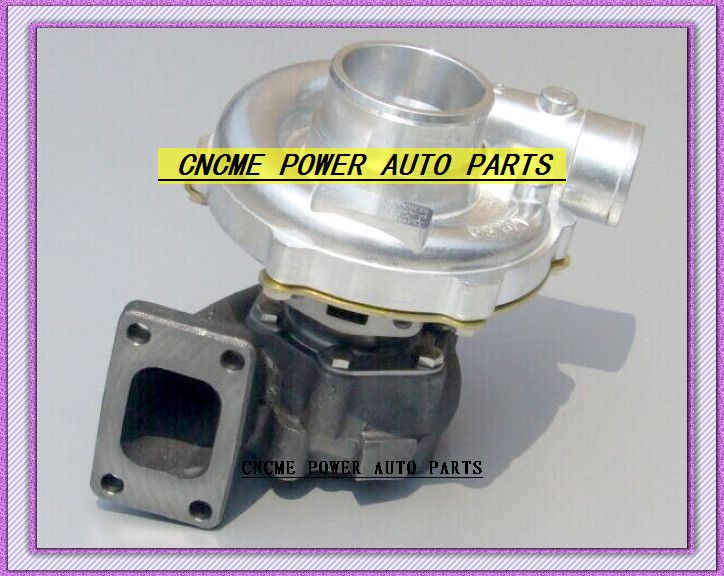 TURBO T3 T4 T3T4 TO4E 5 bolt AR .63 comp AR .50 no wastegate water cooled Turbocharger For Universal Cars 170-155kW-