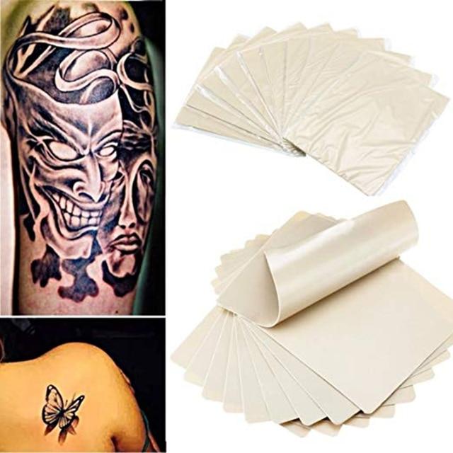 10 pcs tattoo practice skin double Permanent Makeup fake makeup tattoo beginner skin practice microblading tattoo supplies 5