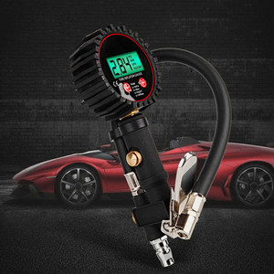 Image 5 - Digital Car Truck Tyre Inflation for Guns Monitoring Tool Air Tire Pressure Inflator Gauge LCD Display Dial Meter Vehicle Tester