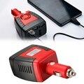 150 W Car Auto porta USB Potência Do Inversor 12VDC Para AC 220 V Carregador de 5 V para Conversor Adaptador Conversor Para Laptop