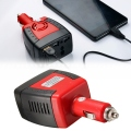 150W Car Auto Power Inverter USB port 5V Adapter Convertor 12VDC To AC 220V Charger Converter For Laptop