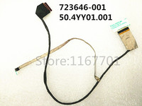 Laptop/Notebook LCD/LED/LVDS Vedio/Audio display CABLE For HP Probook 470 G0 G1 470G1 470G0 2013 S17 723646 001 50.4YY01.001