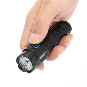Image 4 - 80000LM powerful mini tactical led flashlight usb cree XML R2 led torch waterproof 16340 or 18650 battery USB  rechargeable