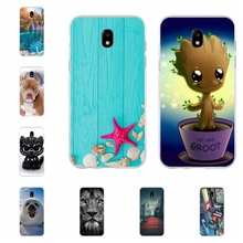 For Samsung Galaxy J5 2017 Case Soft TPU For Samsung Galaxy J5 2017 J530 J530F Cover Dog Pattern For Samsung J5 Pro 2017 Coque samsung jelly cover чехол для galaxy j5 2017 black