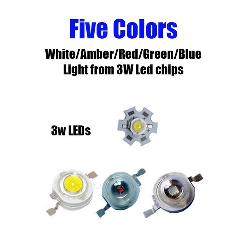 27W Spot Roșu Amber Galben-Albastru Verde Rotund Lucrare LED-uri - Faruri auto - Fotografie 4