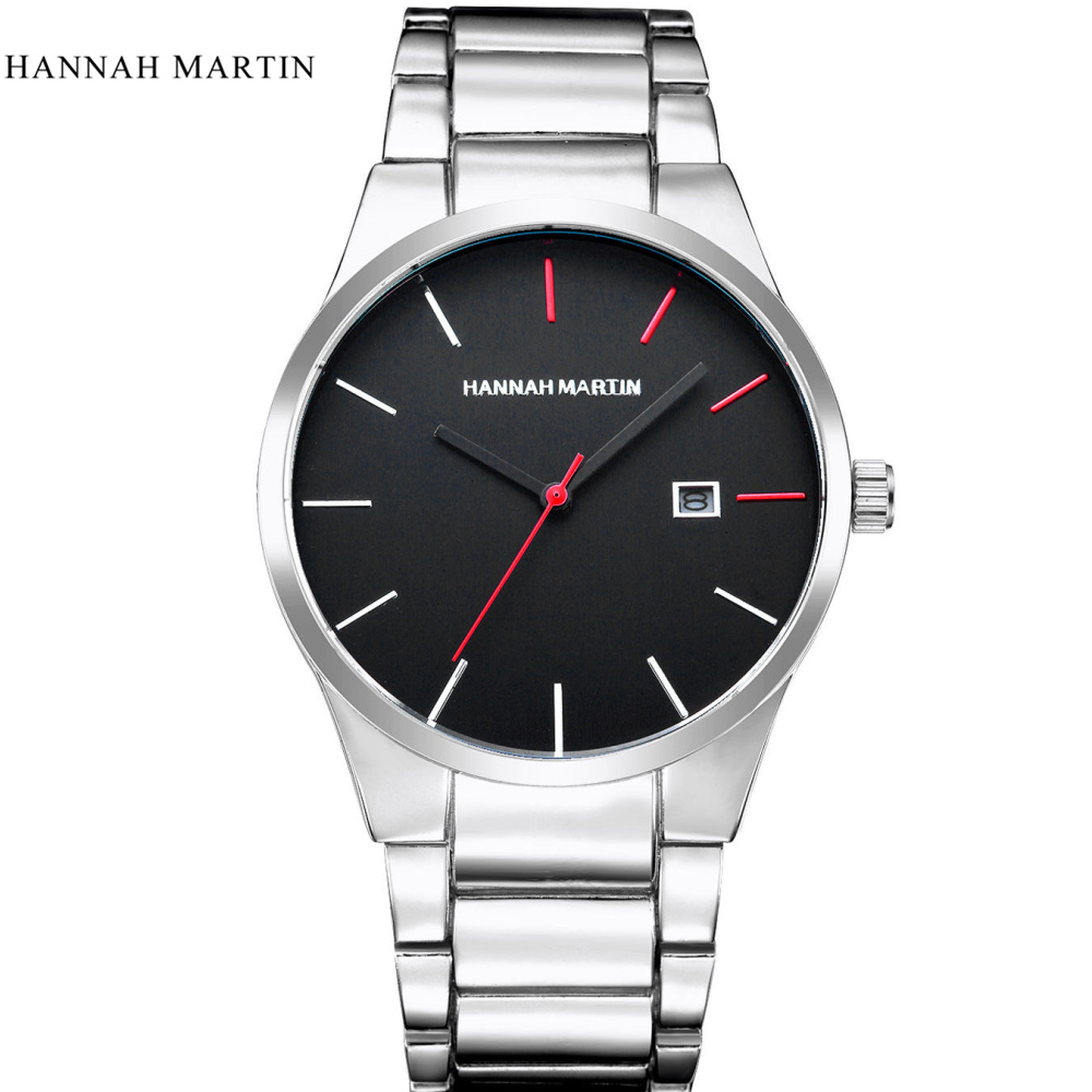 Hannah Martin Luxury Brand Analoge sport Polshorloge Display Datum - Herenhorloges - Foto 4