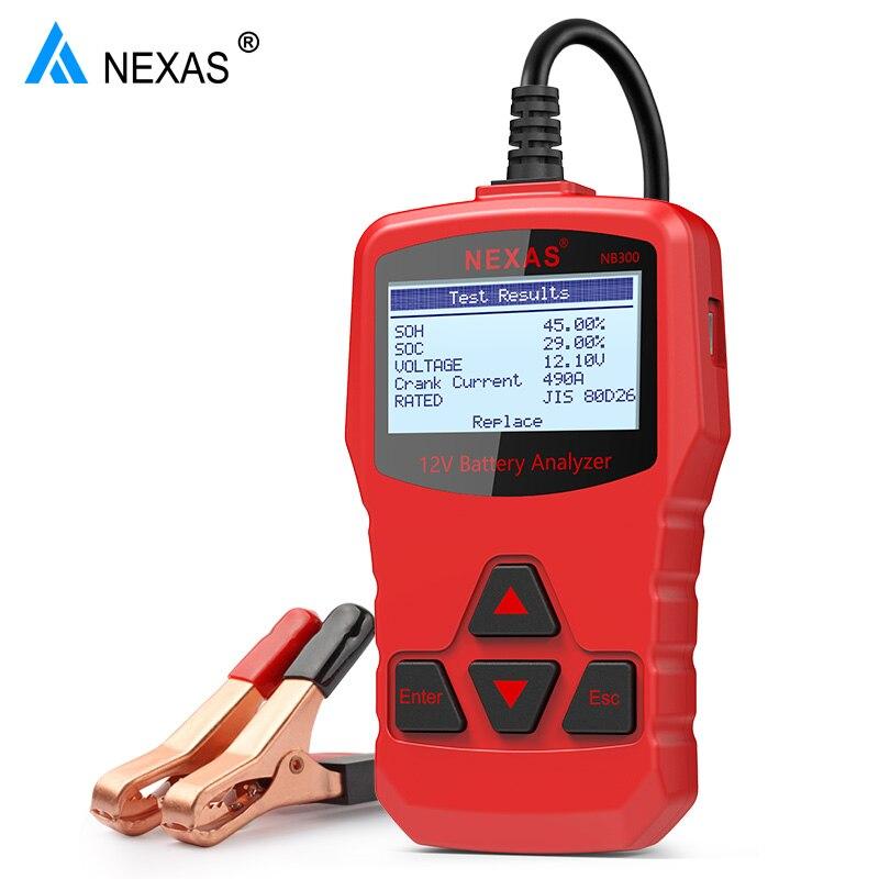Car Battery Ratings >> Car Battery Tester 12V Digital Analyzer 1000 CCA Multi ...