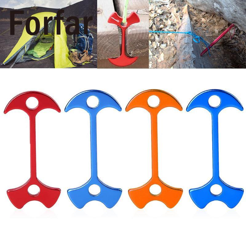 1pcs Tent Floor Nail Outdoor Fiestas Wedding Party Tent Peg Path Camp Wind Rope Anchor Chains Camping Tent Rope Hook