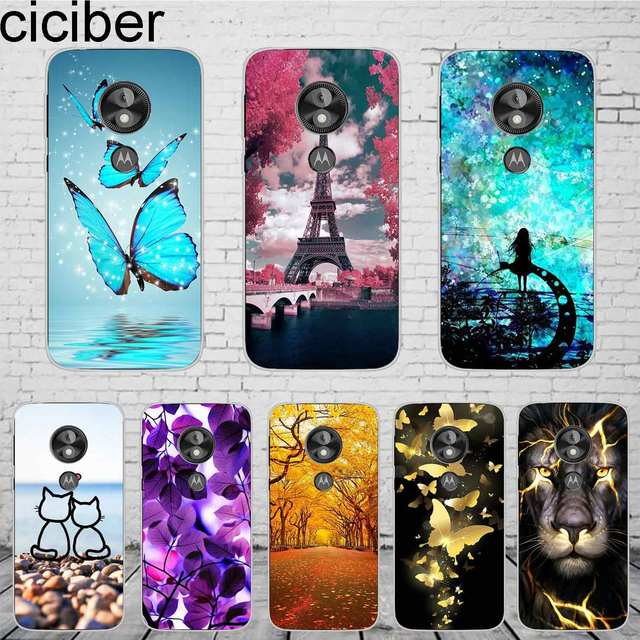 best website 22075 2e5d1 US $1.49 |ciciber For Motorola Moto E5 play Phone Case Soft Silicone 5.2''  Cover Back Clear Fundas For Moto E Play (5th Gen) Coque Capinha-in Fitted  ...