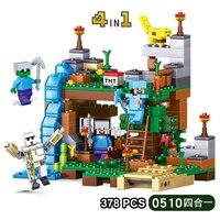 Minecraft Blocks Sword Espada Models Figures Building Blocks Model Set Figures Compatible Lepin Toys Gifts For