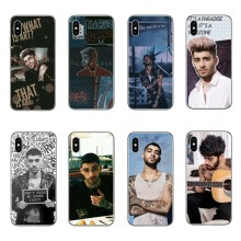 British pop singer Zayn malik transparent Soft TPU silicone Phone Case Cover For iPhone 5 5s se 6 6s Plus 7 7Plus 8 8Plus X 10