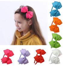 20Pcs/lot Boutique Handmade Solid Bows Plastic Hairband Hair Accessories with Lovely Girl Princess Headband 526