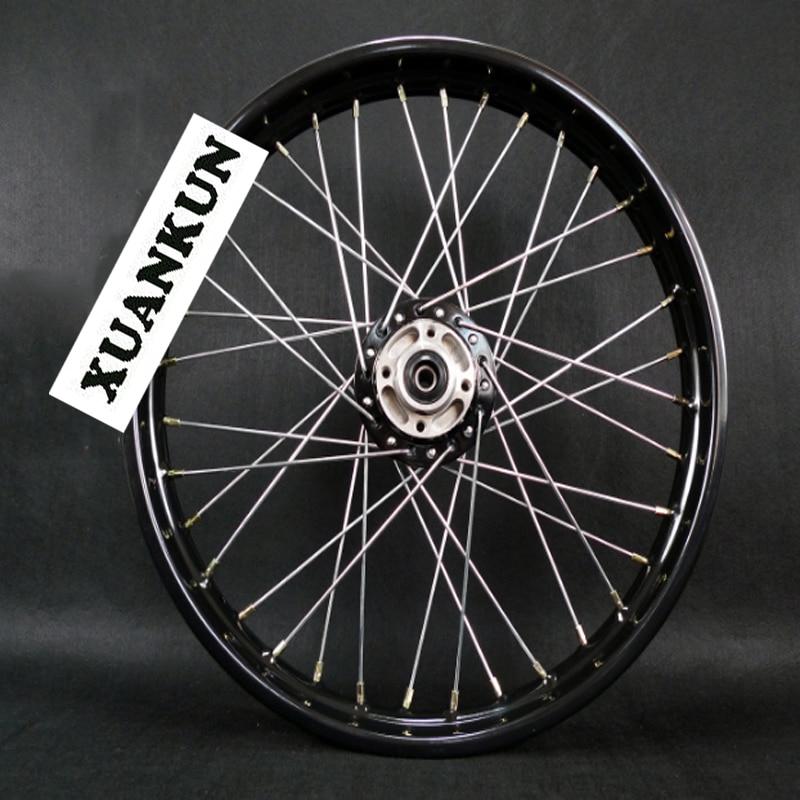 XUANKUN колесо мотоцикла переднее колесо 185-19 концентратор черный