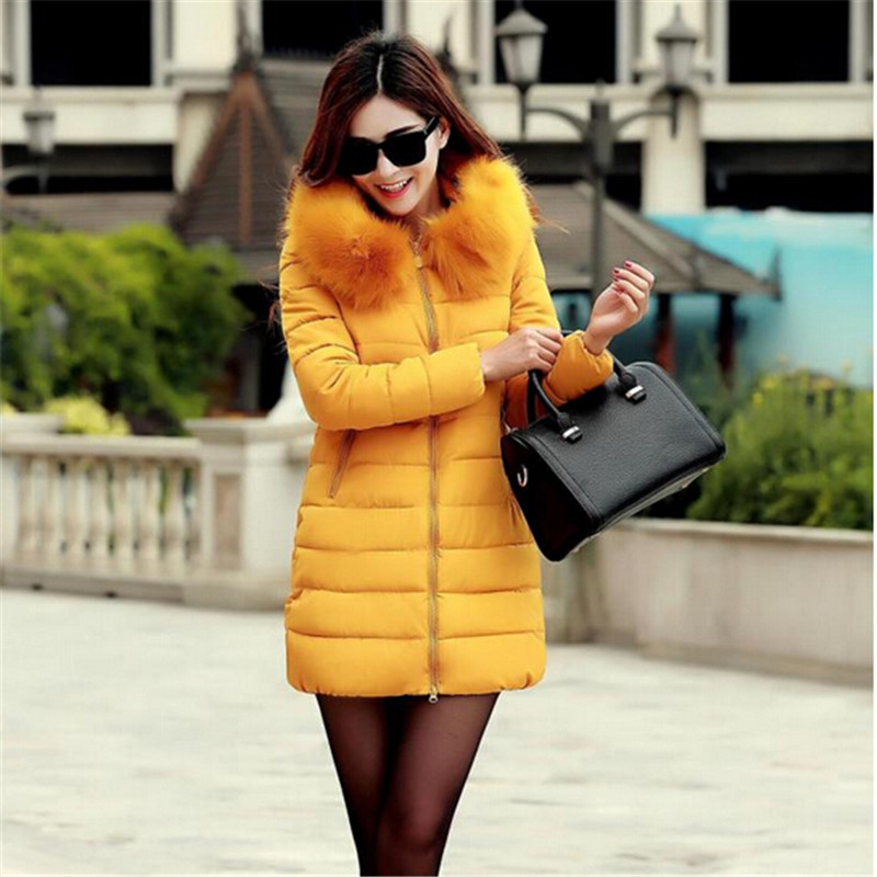 Winter Jacket Women Coat Fashion Thick Cotton Down Padded Jacket Female Parka Women Jacket Outerwear Plus Size XL -5XL C1251 women s winter coat new parkas female thick padded cotton long outwear plus size parka casual jacket coat women c1251