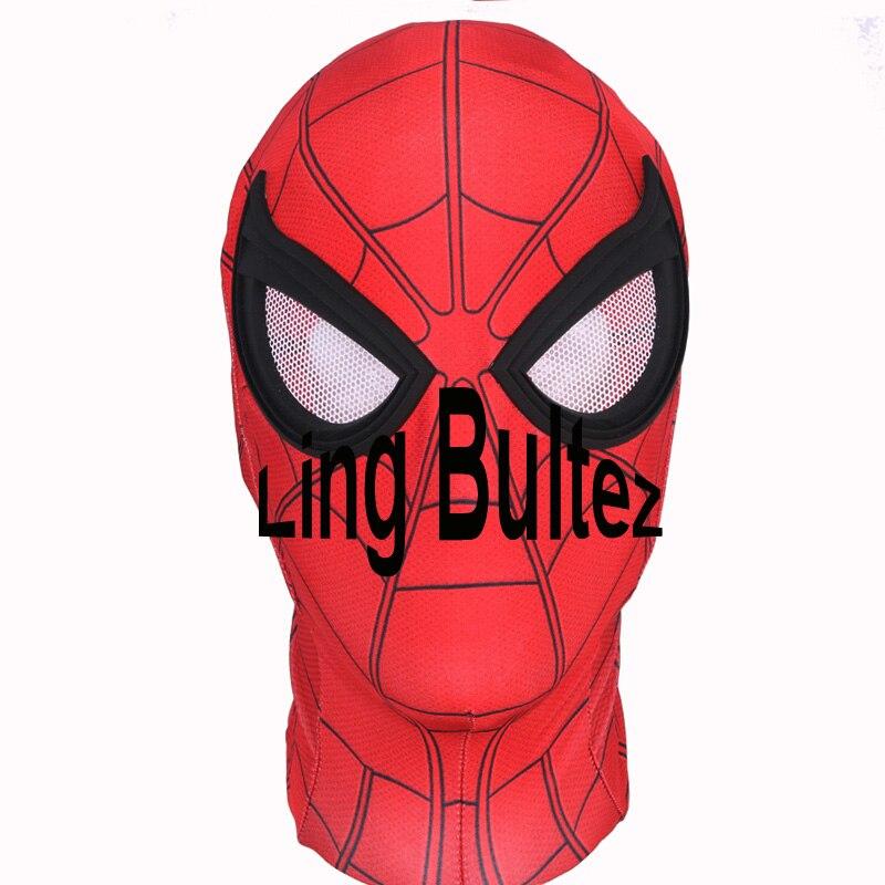 Линь bultez высокое качество человек-паук выпускников Косплэй костюм 2017 том Холланд Человек-паук костюм 2017 выпускников костюм Человека-паука