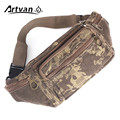 Canvas Waist Packs Man Bag Pouch Money Belt Fashion Men Pack Durable Camouflage Color Cool W27