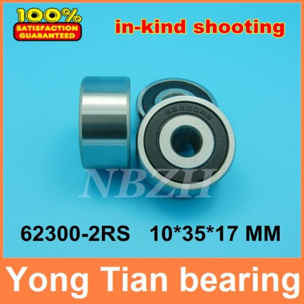 10pcs free shipping High quality Widening of non-standard deep groove ball bearings 62300-2RS 10*35*17 mm gcr15 6326 zz or 6326 2rs 130x280x58mm high precision deep groove ball bearings abec 1 p0