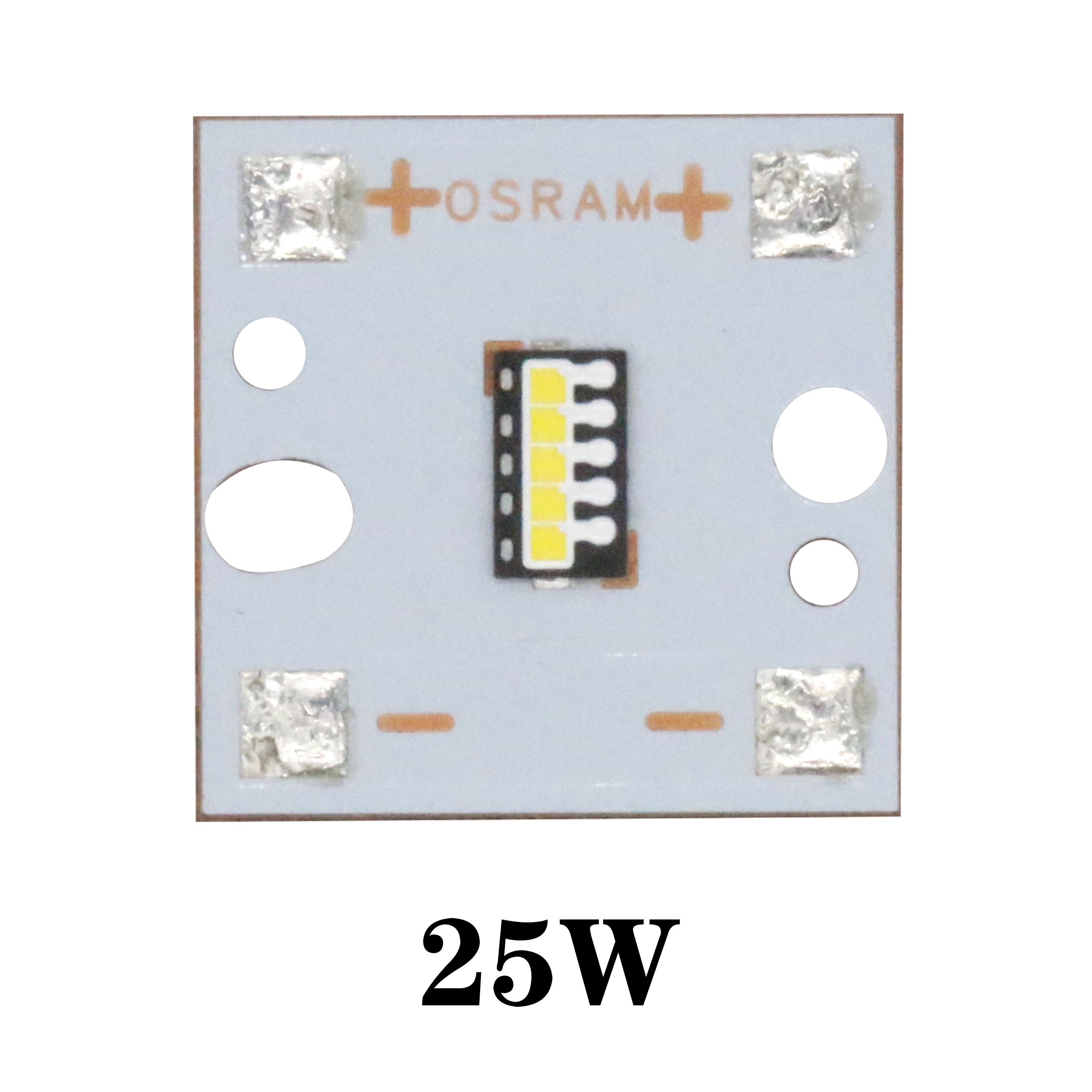 Super Bright 25W 20W 15W LED Light  6500K LED Beads PCB Tube Osram Lamp Substrate Copper For Automotive Headlights DIY