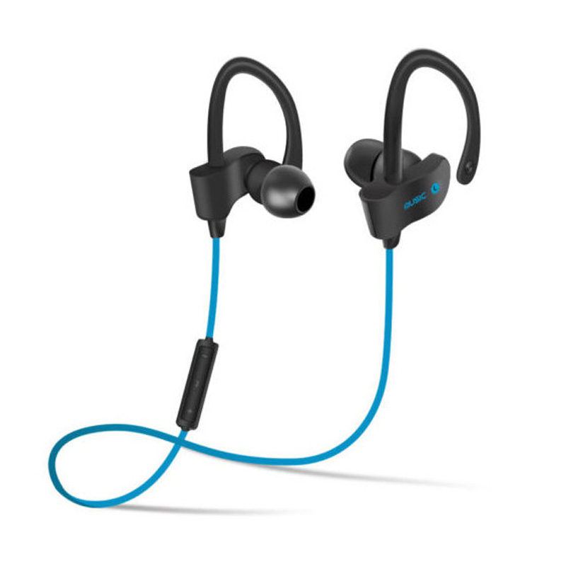 Pluseye Sports In-Ear Wireless Bluetooth Earphone Stereo Earbuds Headset Bass Earphones with Mic for iPhone   xiaomi sports bluetooth earphone 4 1 stereo earbuds wireless headset bass earphones with mic in ear for iphone 7 samsung xiaomi