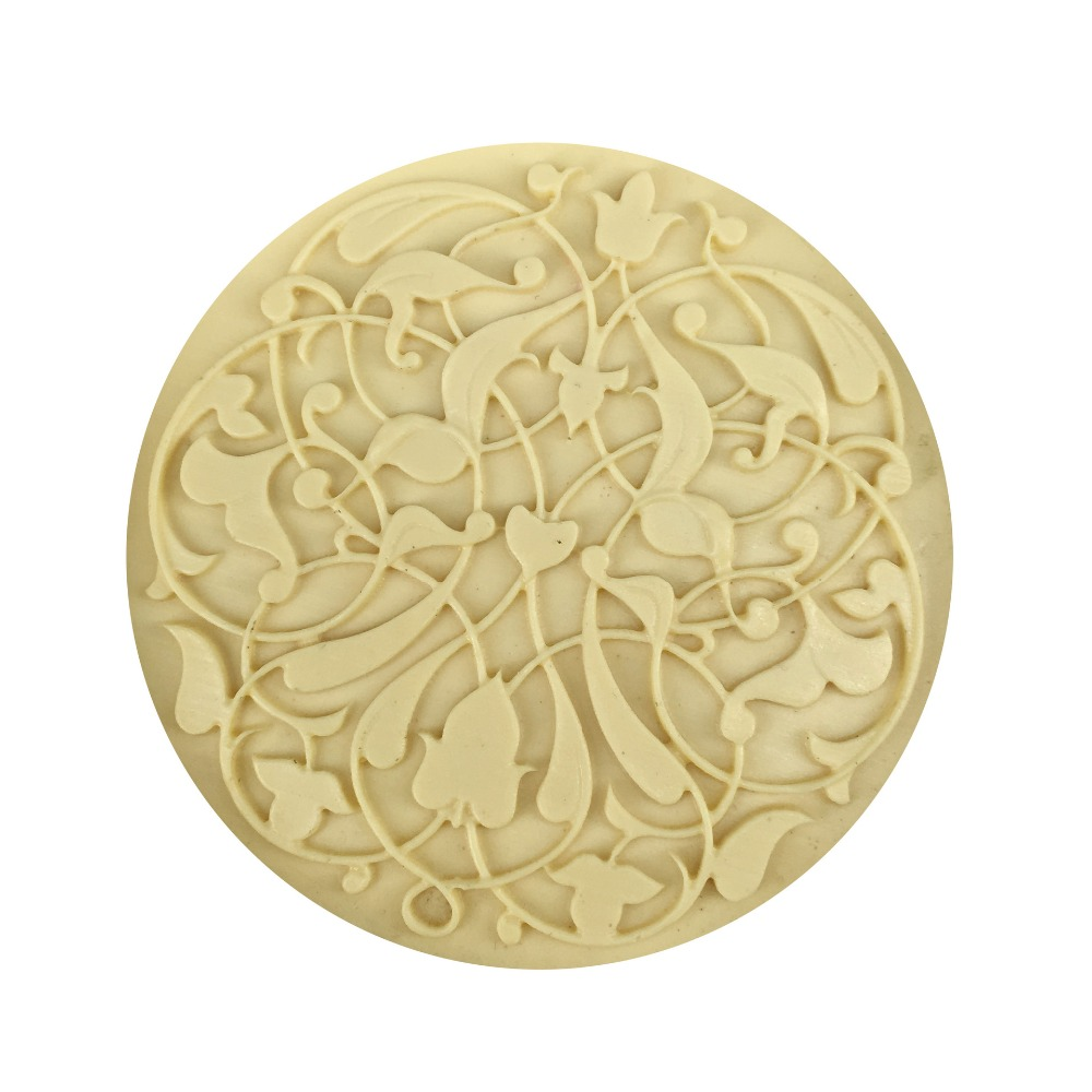 3D Flower Silicone Soap Mold Soap Making Tools For DIY Fondant Cake Craft Candle Wax-Resin Handmade Soap form