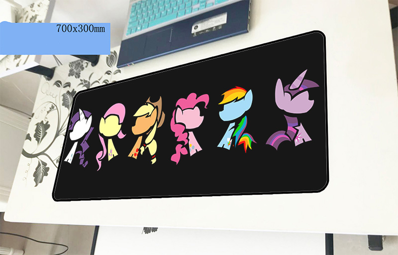 my little pony mousepad gamer cute 700x300x3mm gaming mouse pad hot sales font b notebook b