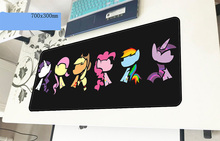 my little pony mousepad gamer cute 700x300x3mm gaming mouse pad hot sales notebook pc accessories laptop