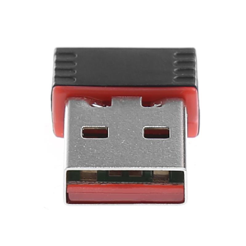 Mini 150Mbps USB2.0 WiFi Network Lan Card Wireless Adapter 802.11n//g//b Black