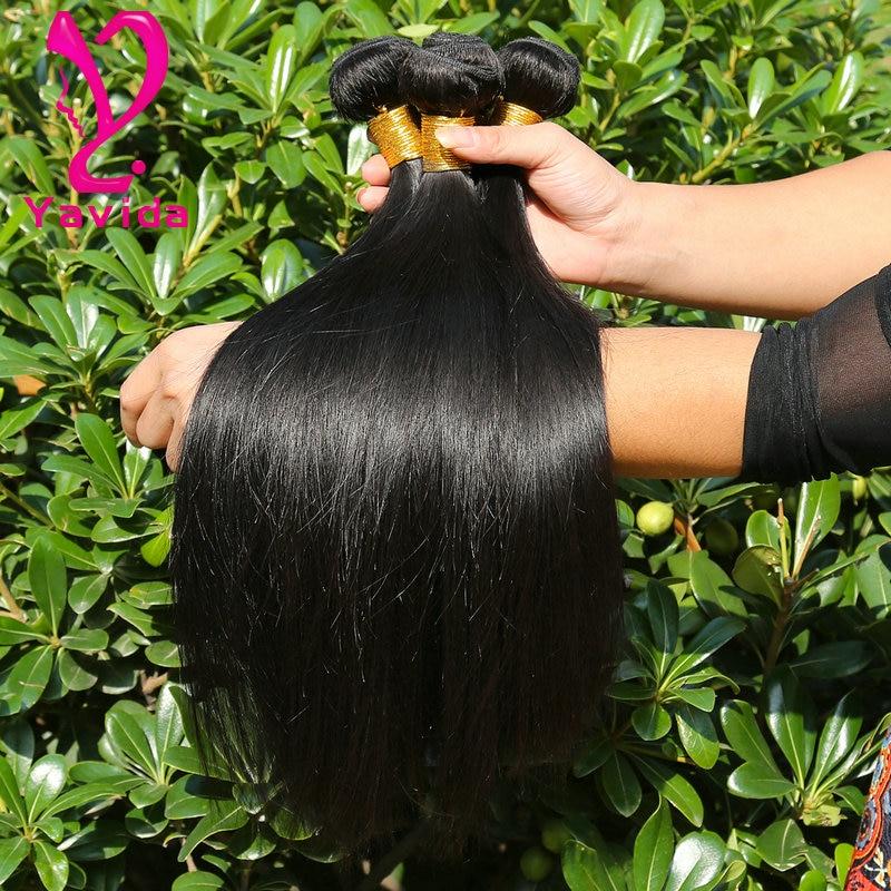 Raw Virgin Remy Indian Straight Hair 4 Bundles Indian Human Hair