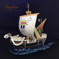 Joyyifor Anime One Piece Thousand Sunny Pirate Ship Boat Model PVC Action Figure Collection Model PVC Toy for Kids Birthday Gift