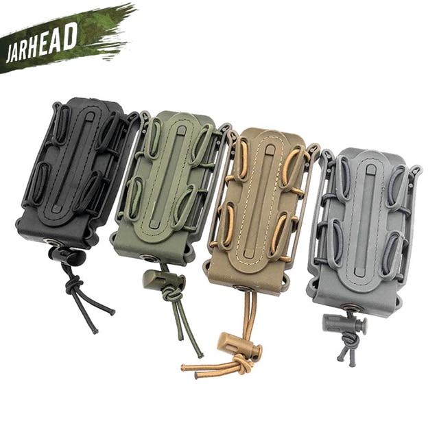 Pochette de magazines tactique 5.67mm 7.62mm 9mm pistolet Molle Mag militaire coque souple pochette de magazines étui rapide poche de Mag